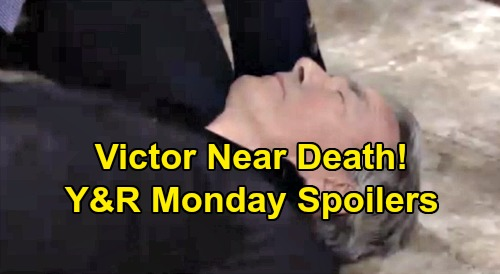 The Young and the Restless Spoilers: Monday, September 16 - Victor Near Death, Adam Blamed - Billy