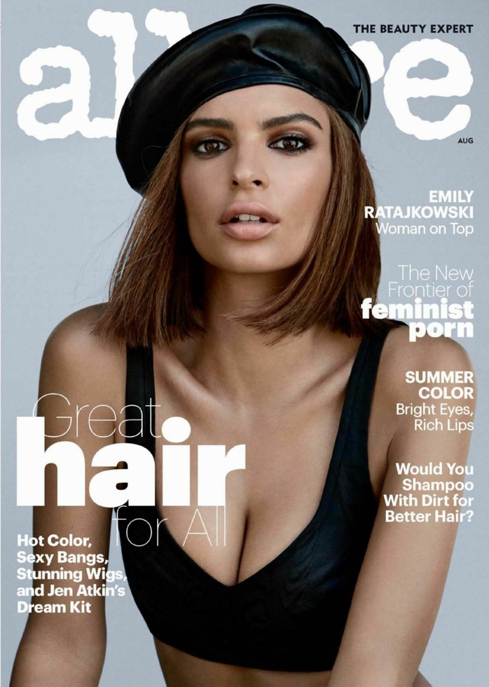 Emily Ratajkowski for Allure Magazine