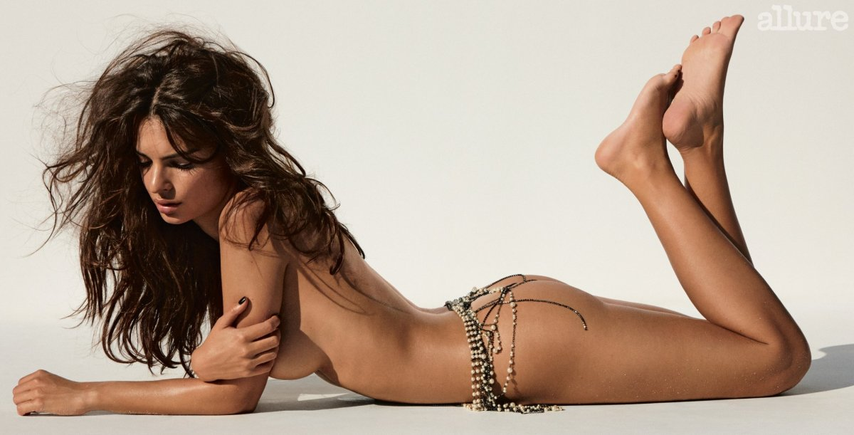 Emily Ratajkowski Poses Naked For Allure Because That's Her F*cking Choice