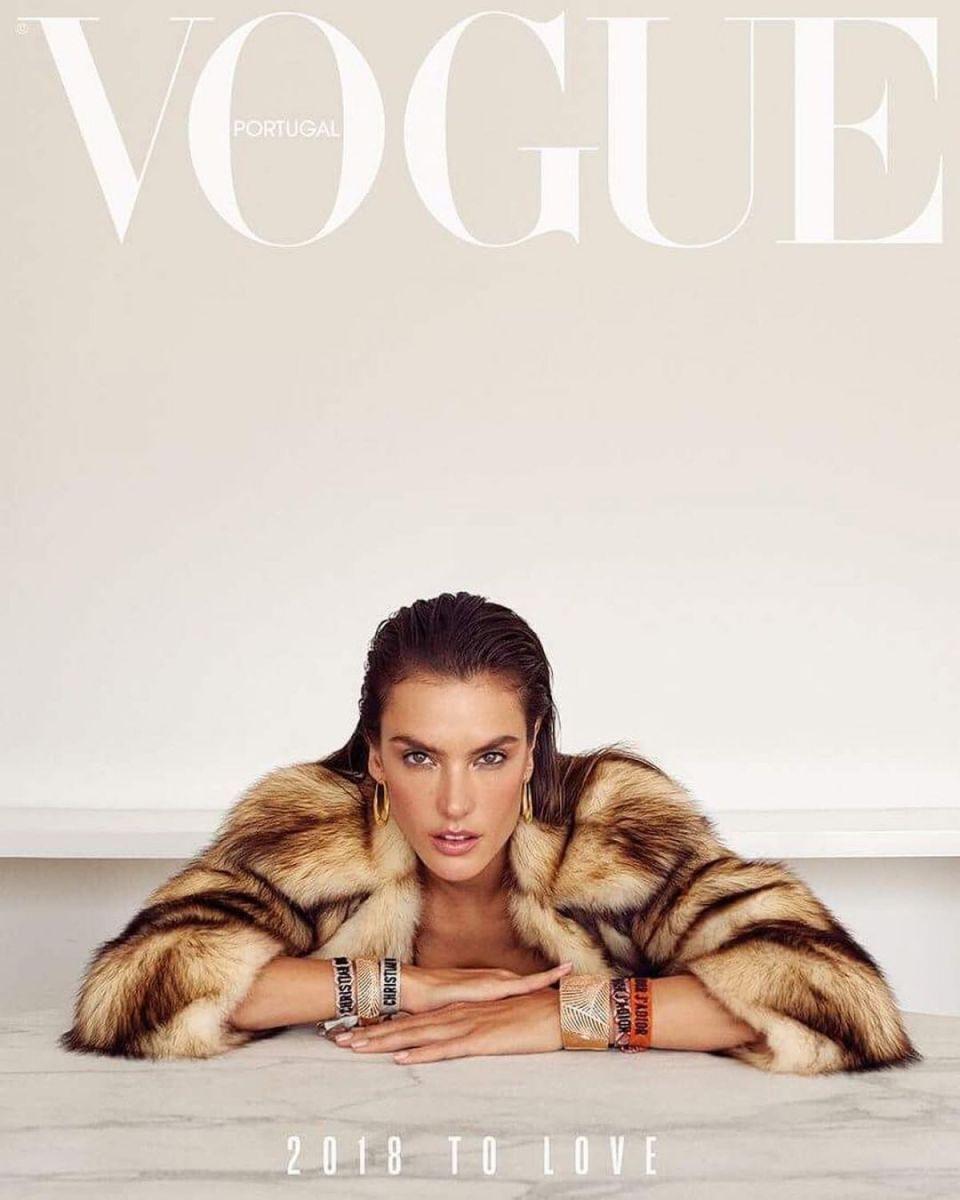 Alessandra Ambrosio – Vogue Magazine