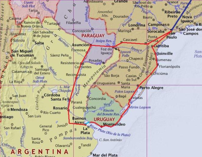 latin amerika gezi rotasi