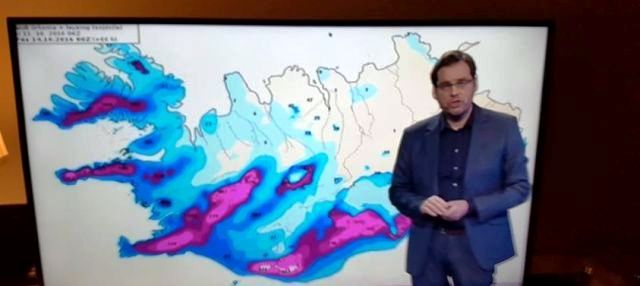 Iceland weather report