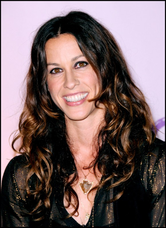 Alanis Morissette on battling melancholy: operating and marijuana assist