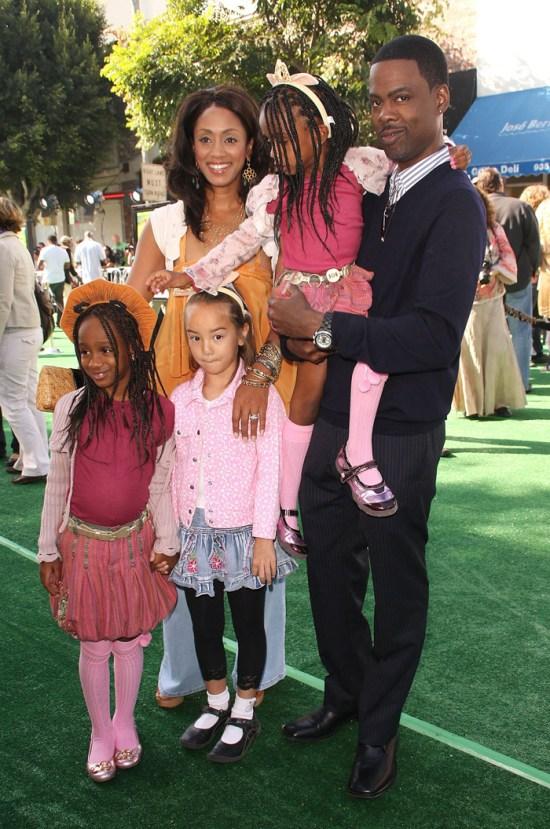 Chris Rock & Malaak's divorce is getting messy over custody & money