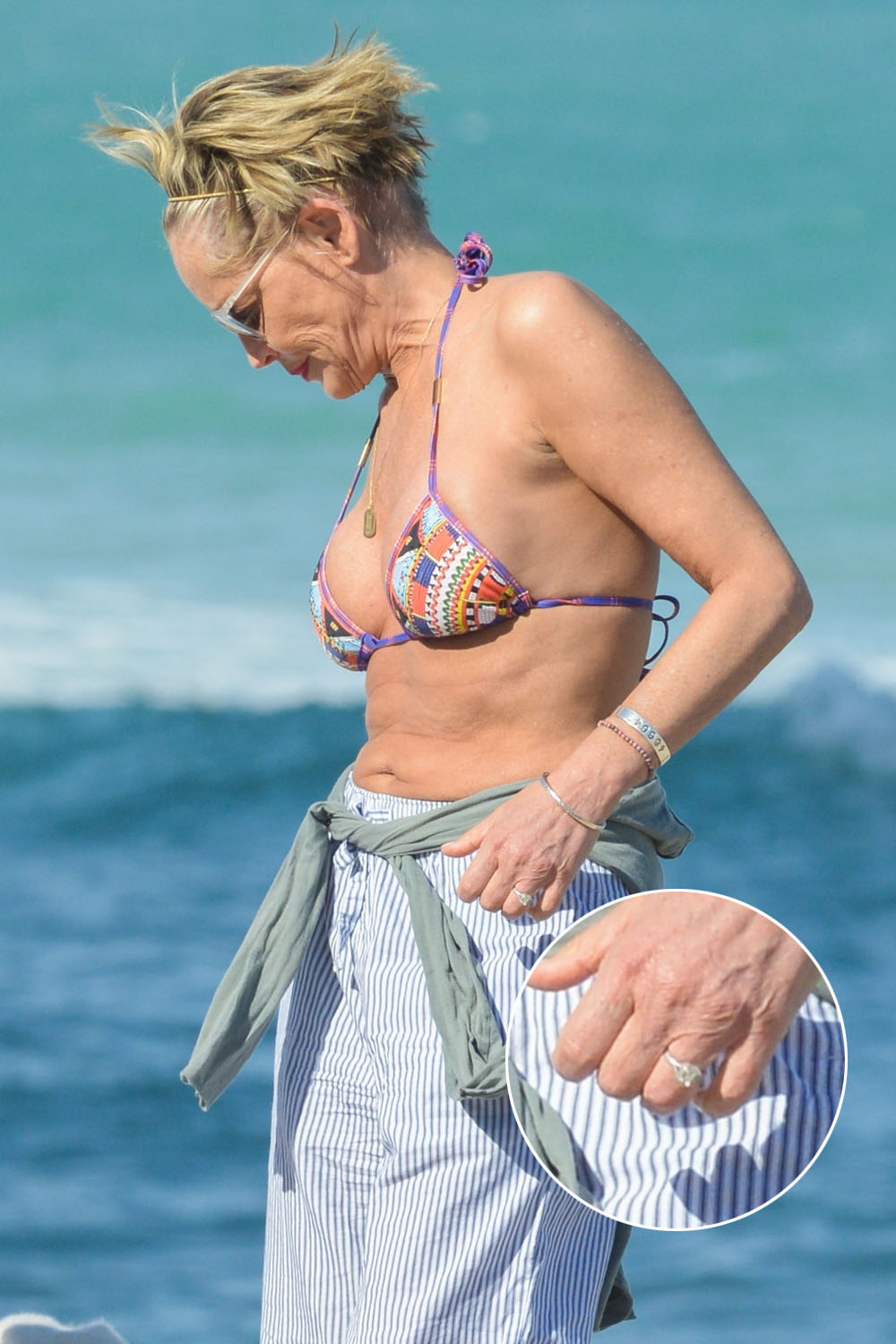 Celebitchy Is Sharon Stone Engaged To Her Italian