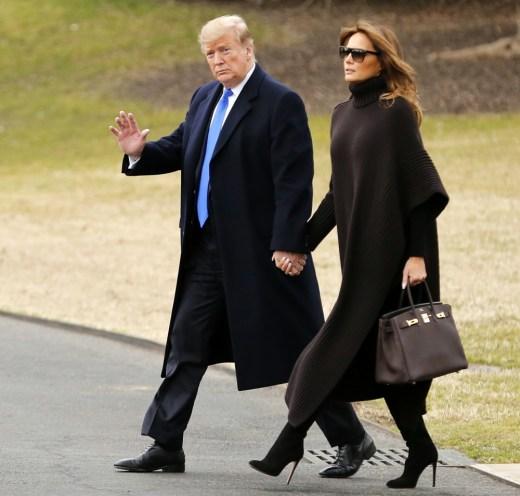 Trumps parte per Mar-a-Lago