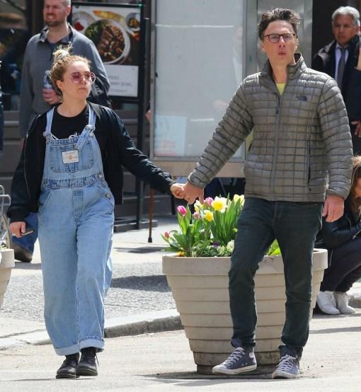 Zach Braff avvistato mano nella mano con Florence Pugh a New York!