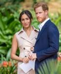 Il principe Harry e Meghan Markle fanno visita a Johannesburg