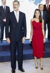 Il re Felipe VI e la regina Letizia partecipano ai premi giornalistici di Mariano de Cavia 2020