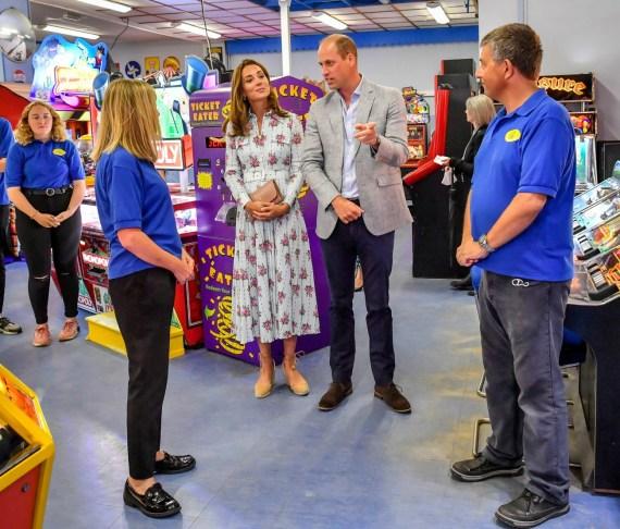 Visita reale nel Galles del sud