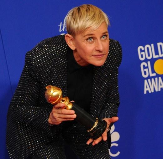 Sala stampa dei Golden Globes 2019
