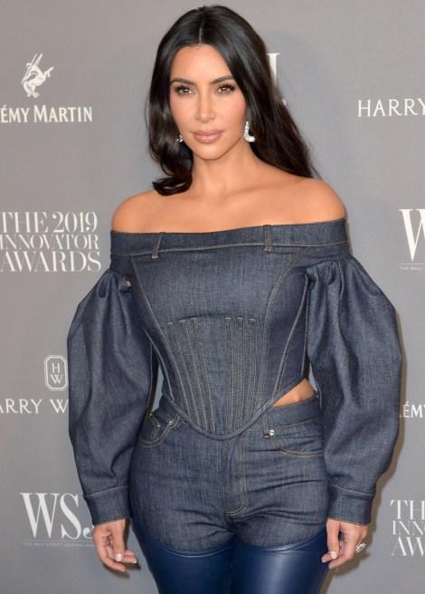 Kim Kardashian West presso gli arrivi per Wall ...
