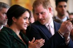 Il Duca e la Duchessa di Sussex partecipano a un evento della Giornata del Commonwealth per i giovani a Canada House