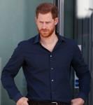Il principe Harry della Gran Bretagna visita il circuito di Silverstone a Towcester