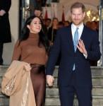Il principe Harry e Meghan Duchessa del Sussex visitano la Canada House a Londra