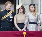Il principe Harry (L-R) della Gran Bretagna, la principessa E ..........