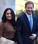 Il principe Harry, duca di Sussex e Meghan, duchessa di Sussex, reagiscono alla partenza dopo la loro visita a Canada House ringraziando per la calorosa ospitalità canadese e il sostegno ricevuto durante il loro recente soggiorno in Canada, a Londra il 7 gennaio 202.