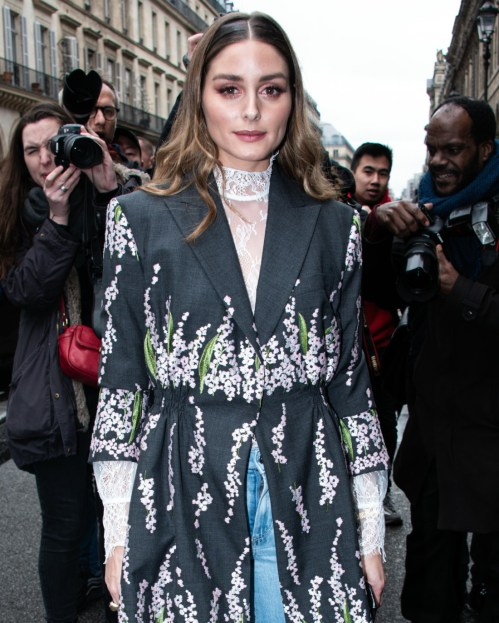 CELEBRITES: Giambattista Valli fashion week - Parigi - 02/03/2020