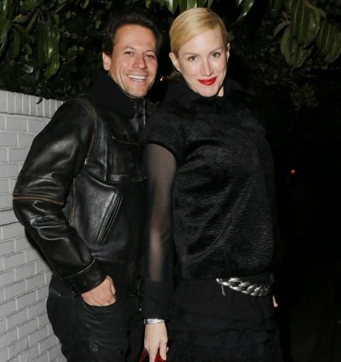 Ioan Gruffudd e Alice Evans visti allo Chateau Marmont di LA