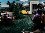 Trump parla ai rappresentanti di ogni ramo delle forze armate, compresa la forza spaziale