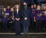 Il Duca e la Duchessa di Cambridge hanno viaggiato sul treno reale attraverso il Regno Unito prima delle vacanze di Natale per rendere omaggio all'incredibile lavoro di individui e organizzazioni che sono andati ben oltre in risposta alla pandemia di coronavirus