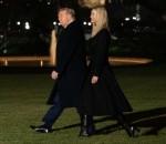Il presidente degli Stati Uniti Donald Trump e sua figlia, la consigliera della Casa Bianca Ivanka Trump, lasciano la Casa Bianca in rotta verso Dalton, Georgia, a Washington