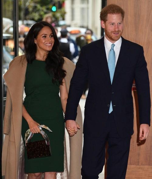 Il principe Harry e la duchessa del Sussex partecipano ai WellChild Awards