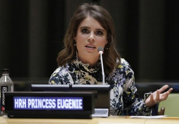 La principessa Eugenie di York alle Nazioni Unite per aiutare ad abolire la schiavitù moderna