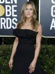 Jennifer Aniston partecipa al 77th Annual Golden Globe Awards al Beverly Hilton Hotel il 5 gennaio 2020 a Beverly Hills, California. | utilizzo in tutto il mondo