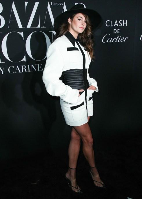 Shailene Woodley arriva al 2019 Harper's BAZAAR Celebration of 'ICONS By Carine Roitfeld' tenutosi al Plaza Hotel il 6 settembre 2019 a Manhattan, New York City, New York, Stati Uniti.
