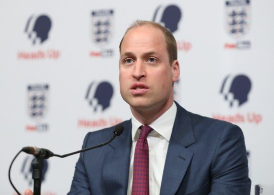 Duca di Cambridge al lancio della nuova campagna sulla salute mentale