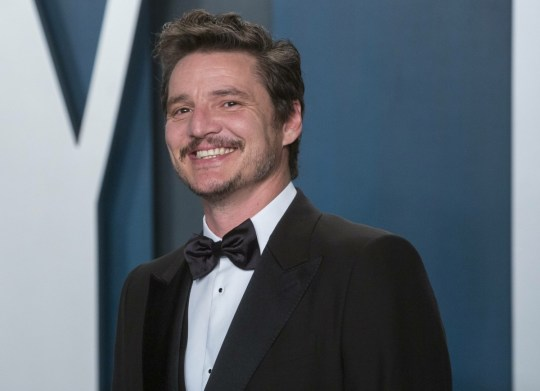 Pedro Pascal attends the Vanity Fair Oscar Party at Wallis Annenberg Center for the Performing Arts...