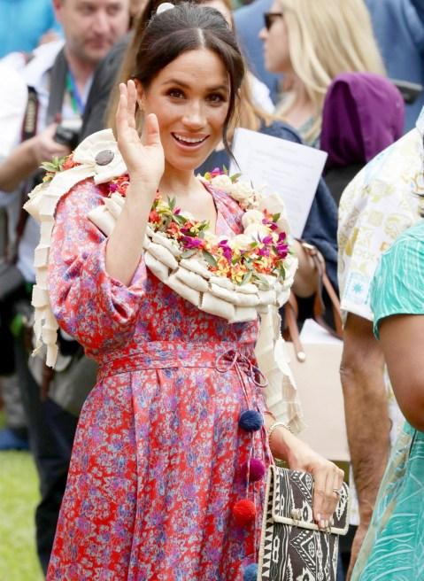 Il principe Harry e Meghan Markle visitano l'Università del Pacifico meridionale
