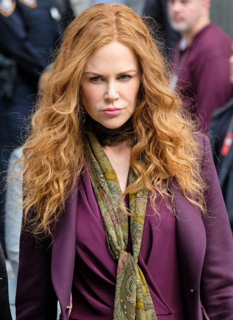 Nicole Kidman gira con Hugh Grant e Donald Sutherland a New York