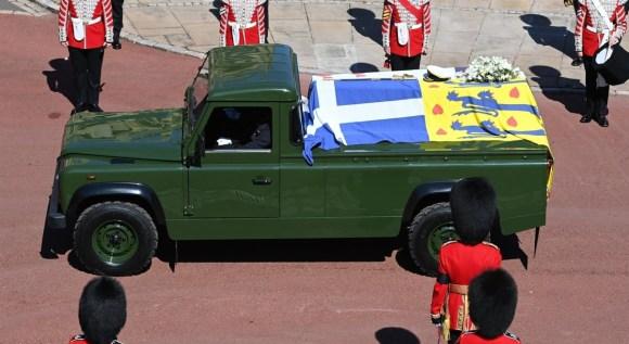 La famiglia reale partecipa ai funerali del principe Filippo, duca di Edimburgo alla cappella di San Giorgio nel Castello di Windsor