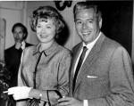 Lucille Ball e il marito Desi Arnaz a