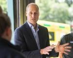 Duke of Cambridge meets ambulance staff