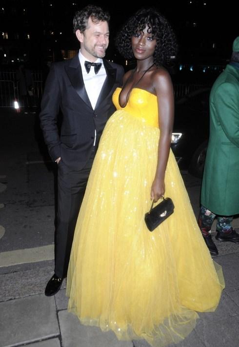 Jodie Turner-Smith e Joshua Jackson alla festa del film di moda Tiffany e di Vogue da Annabel