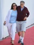Bill e Melinda Gates partecipano al Longines Global Champions Tour di Monaco e sostengono la figlia Jennifer Gates durante il Prix de la Fédération Equestre de Monac
