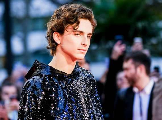 Timothee Chalamet posa sul red carpet del London Film Festival: The King - American Airlines Gala giovedì 3 ottobre 2019