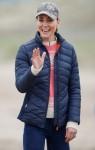 Catherine, duchessa di Cambridge, prova lo yachting terrestre a St Andrews