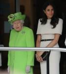 La duchessa del Sussex intraprende il suo primo fidanzamento ufficiale con la regina Elisabetta II