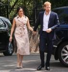 Il principe Harry e Meghan Markle in visita a Johannesburg