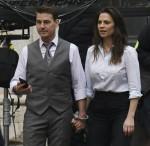 Tom Cruise e Hayley Atwell ammanettati sul set di Mission Impossible 7