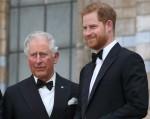 Il principe Carlo e il principe Harry alla prima mondiale di Our Planet di Netflix al Museo di Storia Naturale di Kensington, Londra, il 4 aprile 2019