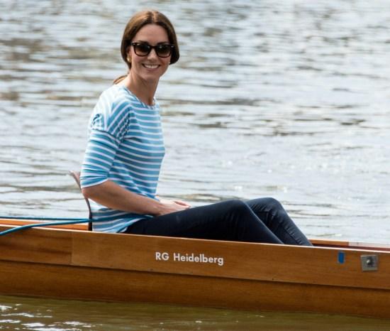 Il principe William e la duchessa Catherine visitano Heidelberg