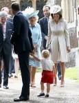 Il battesimo della principessa Charlotte di Cambridge