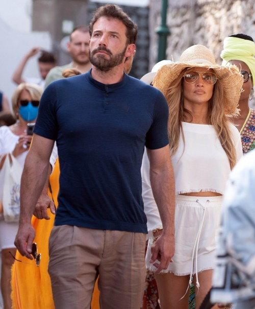 Jennifer Lopez and Ben Affleck are head over heels in love while on vacation in Capri, Italy