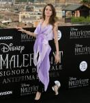 Angelina Jolie posa durante il photocall per la prima europea del film Maleficent: Mistress of Evil, a Roma, Italia 07-10-2019