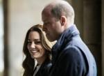 Catherine, duchessa di Cambridge e il principe William, duca di Cambridge, visitano l'Università di St Andrews a St Andrews il 26 maggio 2021.